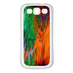 Watercolor Grunge Background Samsung Galaxy S3 Back Case (White)