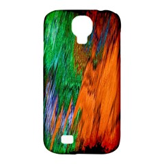 Watercolor Grunge Background Samsung Galaxy S4 Classic Hardshell Case (PC+Silicone)