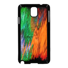 Watercolor Grunge Background Samsung Galaxy Note 3 Neo Hardshell Case (Black)