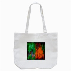 Watercolor Grunge Background Tote Bag (White)