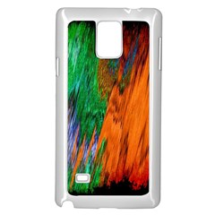 Watercolor Grunge Background Samsung Galaxy Note 4 Case (White)
