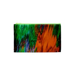 Watercolor Grunge Background Cosmetic Bag (XS)
