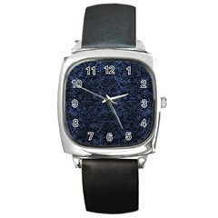 DMS2 BK-MRBL BL-STONE (R) Square Metal Watch