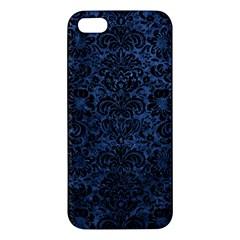 DMS2 BK-MRBL BL-STONE (R) Apple iPhone 5 Premium Hardshell Case