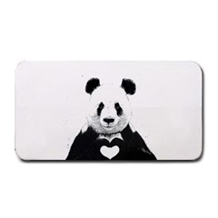 Panda Love Heart Medium Bar Mats