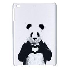Panda Love Heart Apple iPad Mini Hardshell Case