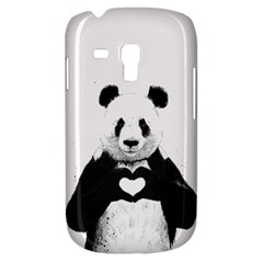 Panda Love Heart Galaxy S3 Mini