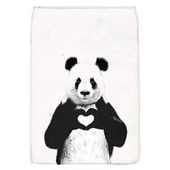 Panda Love Heart Flap Covers (L)