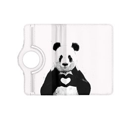 Panda Love Heart Kindle Fire Hd (2013) Flip 360 Case