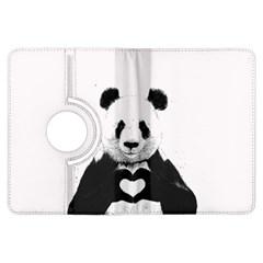 Panda Love Heart Kindle Fire HDX Flip 360 Case