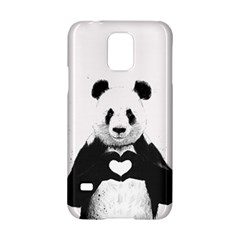 Panda Love Heart Samsung Galaxy S5 Hardshell Case