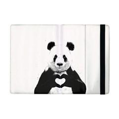 Panda Love Heart iPad Mini 2 Flip Cases