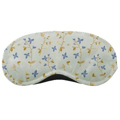 Vintage Hand Drawn Floral Background Sleeping Masks