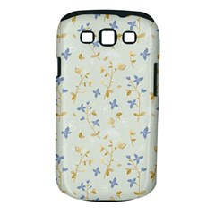Vintage Hand Drawn Floral Background Samsung Galaxy S III Classic Hardshell Case (PC+Silicone)