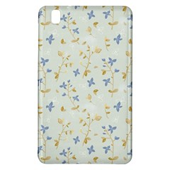 Vintage Hand Drawn Floral Background Samsung Galaxy Tab Pro 8.4 Hardshell Case