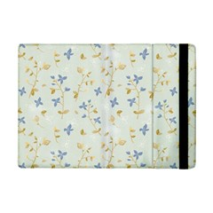 Vintage Hand Drawn Floral Background iPad Mini 2 Flip Cases