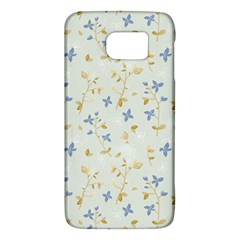 Vintage Hand Drawn Floral Background Galaxy S6