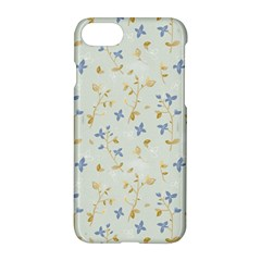 Vintage Hand Drawn Floral Background Apple Iphone 7 Hardshell Case