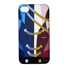 YOI Duetto Apple iPhone 4/4S Hardshell Case with Stand