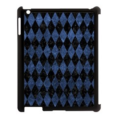 DIA1 BK-MRBL BL-STONE Apple iPad 3/4 Case (Black)