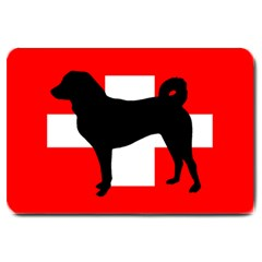 Appenzeller Sennenhund Silo Switzerland Flag Large Doormat