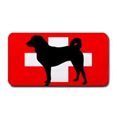 Appenzeller Sennenhund Silo Switzerland Flag Medium Bar Mats