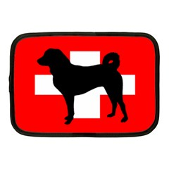 Appenzeller Sennenhund Silo Switzerland Flag Netbook Case (Medium)