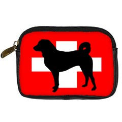 Appenzeller Sennenhund Silo Switzerland Flag Digital Camera Cases