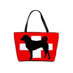 Appenzeller Sennenhund Silo Switzerland Flag Shoulder Handbags