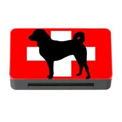Appenzeller Sennenhund Silo Switzerland Flag Memory Card Reader with CF