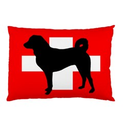 Appenzeller Sennenhund Silo Switzerland Flag Pillow Case (Two Sides)