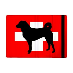 Appenzeller Sennenhund Silo Switzerland Flag Apple iPad Mini Flip Case