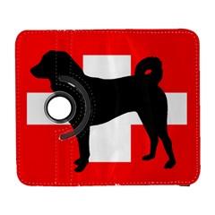 Appenzeller Sennenhund Silo Switzerland Flag Galaxy S3 (Flip/Folio)