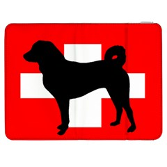 Appenzeller Sennenhund Silo Switzerland Flag Samsung Galaxy Tab 7  P1000 Flip Case