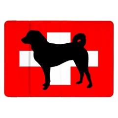Appenzeller Sennenhund Silo Switzerland Flag Samsung Galaxy Tab 8.9  P7300 Flip Case