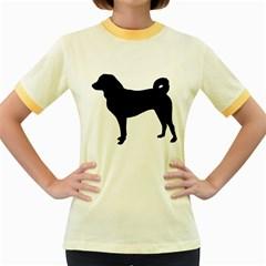 Appenzeller Sennenhund Silo Women s Fitted Ringer T-Shirts