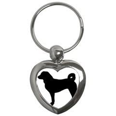 Appenzeller Sennenhund Silo Key Chains (Heart)