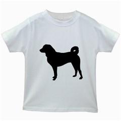 Appenzeller Sennenhund Silo Kids White T-Shirts