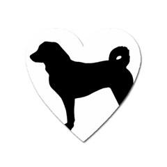 Appenzeller Sennenhund Silo Heart Magnet