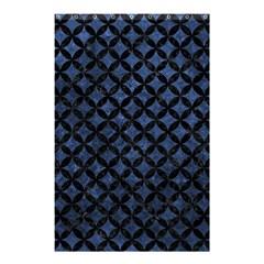 CIR3 BK-MRBL BL-STONE (R) Shower Curtain 48  x 72  (Small)