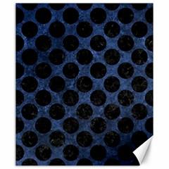 CIR2 BK-MRBL BL-STONE (R) Canvas 20  x 24