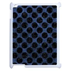 CIR2 BK-MRBL BL-STONE (R) Apple iPad 2 Case (White)