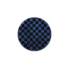 CIR2 BK-MRBL BL-STONE Golf Ball Marker