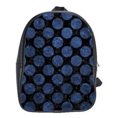 CIR2 BK-MRBL BL-STONE School Bags (XL)
