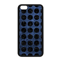 CIR1 BK-MRBL BL-STONE (R) Apple iPhone 5C Seamless Case (Black)