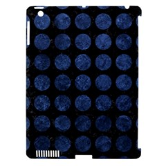 CIR1 BK-MRBL BL-STONE Apple iPad 3/4 Hardshell Case (Compatible with Smart Cover)