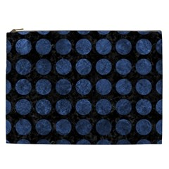 CIR1 BK-MRBL BL-STONE Cosmetic Bag (XXL)