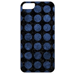 CIR1 BK-MRBL BL-STONE Apple iPhone 5 Classic Hardshell Case