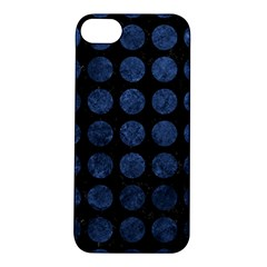 CIR1 BK-MRBL BL-STONE Apple iPhone 5S/ SE Hardshell Case