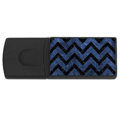 CHV9 BK-MRBL BL-STONE (R) USB Flash Drive Rectangular (2 GB)